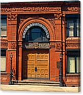 Freemasons Hall, Factors Walk Canvas Print