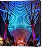 Freemont Street Experience One Canvas Print