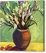 Freesias Canvas Print