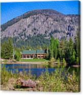 Freestone Inn Lakeside View Canvas Print