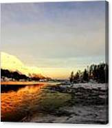 Freezing Cold Canvas Print