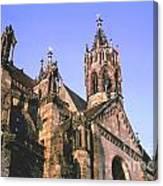 Freiburg Gothic  Canvas Print