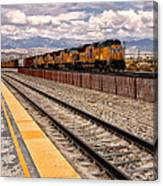 Freight Expectations Palm Springs Canvas Print