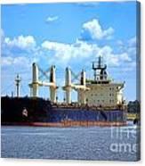 Freight Hauler Canvas Print