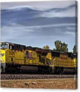 Freight Train 5509 Canvas Print