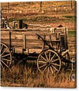 Freight Wagon Canvas Print
