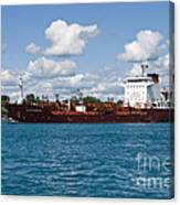 Freighter Canvas Print