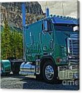 Freightliner Cabover Canvas Print