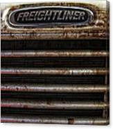 Freightliner Highway King Canvas Print