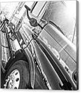 Freightliner Side View Canvas Print