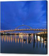 Fremont Bridge Blues Canvas Print