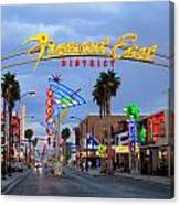 Fremont East District Canvas Print