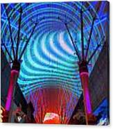 Fremont Street Experience Three Canvas Print