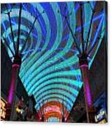 Fremont Street Experience Two Canvas Print