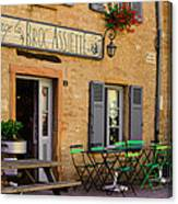 French Auberge Canvas Print