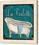 French Bath Canvas Print