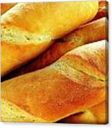 French Bread Canvas Print