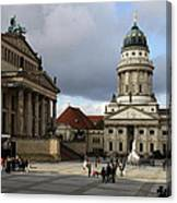 French Cathedral And Concert Hall - Berlin  Canvas Print