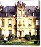 French Chateau 1955 Canvas Print
