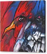 French Cokerel Canvas Print