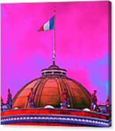 French Dome Art Canvas Print