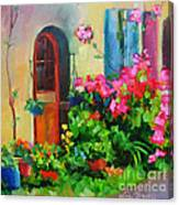 French Door Canvas Print