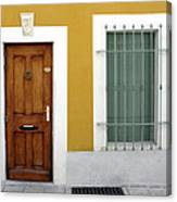 French Doorway Canvas Print