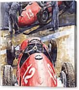 French Gp 1952 Ferrari 500 F2 Canvas Print