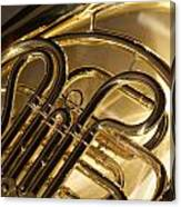 French Horn I Canvas Print