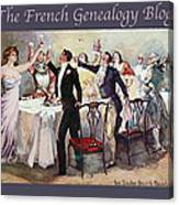 French New Year With Fgb Border Canvas Print