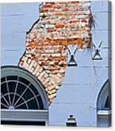 French Quarter Architecture Canvas Print
