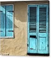 French Quarter Blues Canvas Print