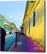 French Quarter Street Canvas Print