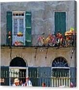 French Quarter Stroll 2 - New Orleans Canvas Print