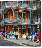 French Quarter Wandering 3 Canvas Print