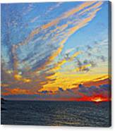 French Sunset Canvas Print