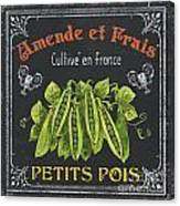 French Vegetables 2 Canvas Print