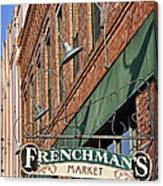 Frenchman's Market Canvas Print