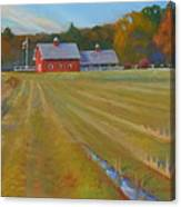 Fresh Cut Adams Farm Canvas Print