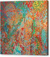 Fresh Dots Canvas Print