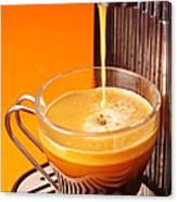 Fresh Espresso Canvas Print