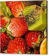 Fresh Fruit Salad Canvas Print