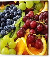 Fresh Fruits Canvas Print