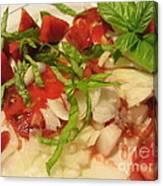 Fresh Garden Salad - Tomato Canvas Print