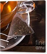 Fresh Glass Cup Of Tea Canvas Print
