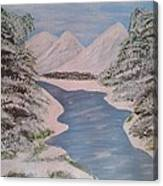 Fresh Spring Water Canvas Print