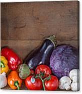 Fresh Vegetables Canvas Print
