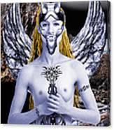 Freya Viking Warrior Canvas Print