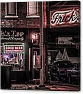 Frick's Tap Canvas Print