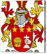 Friel Coat Of Arms Irish Canvas Print